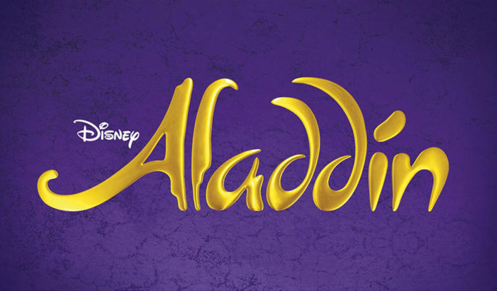 Aladdin Musical London Poster Plakat