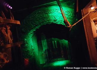 Horrorattraktion Gruselkabinett London Bridge Experience and Tombs