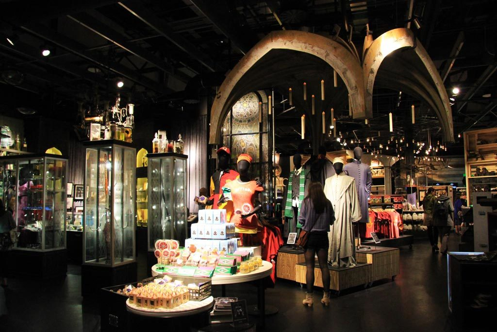 Harry Potter Studio Tour London Souvenir-Shop