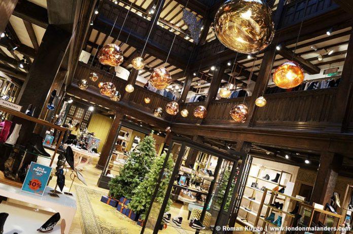 Liberty Kaufhaus London Weihnachten