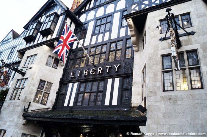 das liberty kaufhaus in london das sch nste kaufhaus der welt london mal anders. Black Bedroom Furniture Sets. Home Design Ideas
