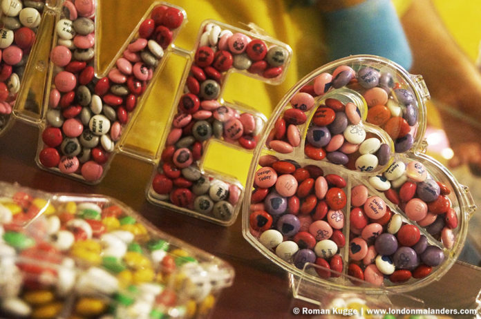 M&M'S World London personalisierte M&M'S