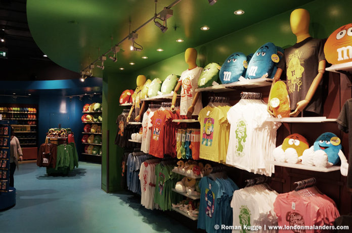 M&M'S World London groesste Bonbonladen der Welt