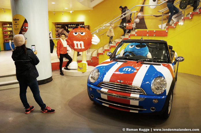M&M'S World London Figuren