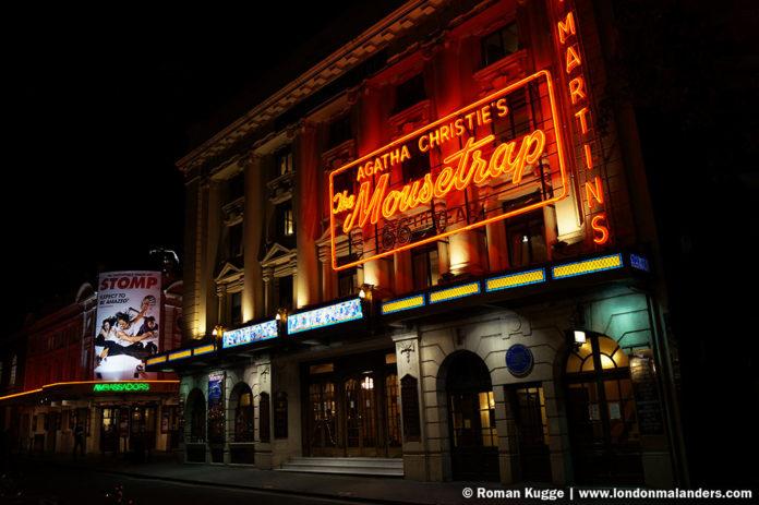Mausefalle Mousetrap in London Saint Martin's Theatre