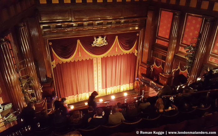 Mausefalle Mousetrap in London Theater Saal