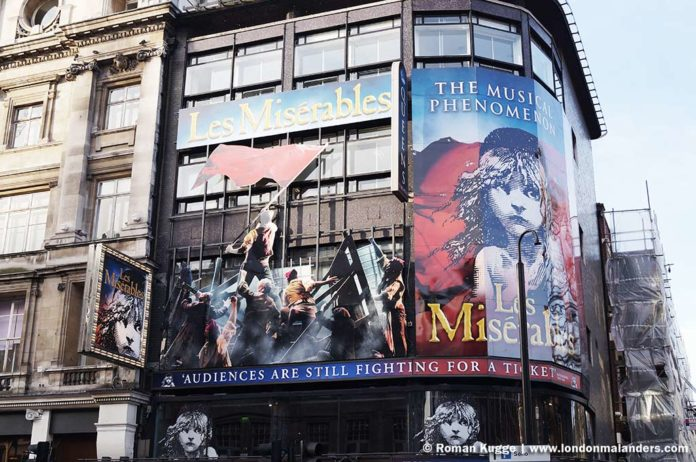 Musical Les Miserables London