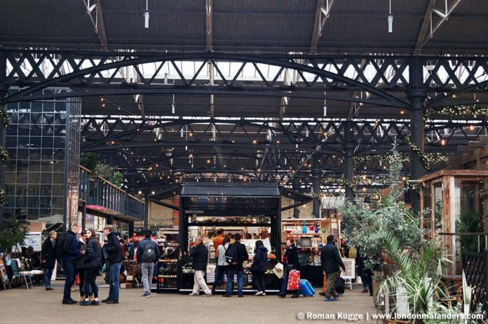Old Spitalfields Market London