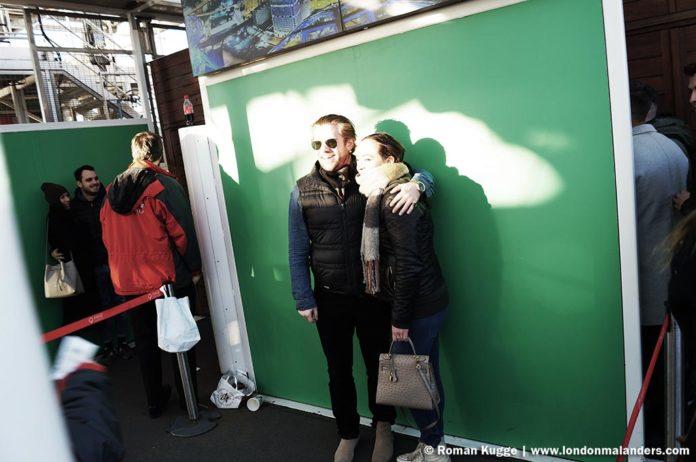 Riesenrad London Eye Erinnerungsfoto