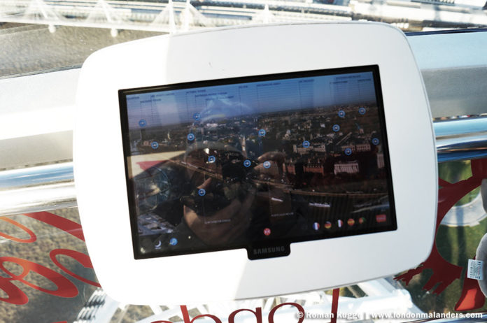 Riesenrad London Eye Tablet