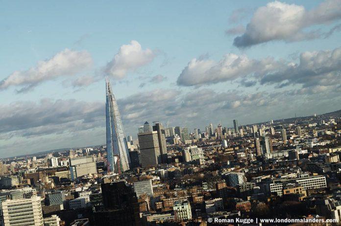Riesenrad London Eye Ausblick