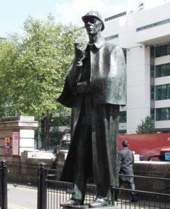 Sherlock Holmes Statue London