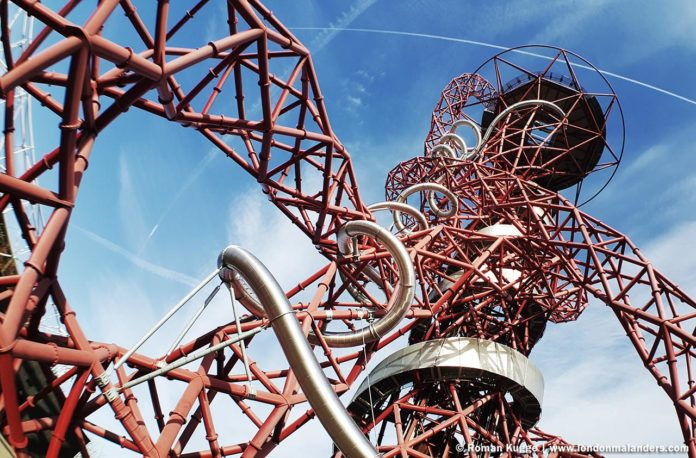 The Orbit Slide Rutsche London