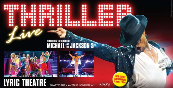 Thriller London Musical Poster Plakat