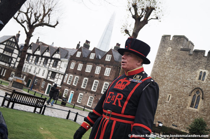 Tower of London Yeomen Wardens Tour Führung