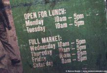 Borough Market London Öffnungszeiten
