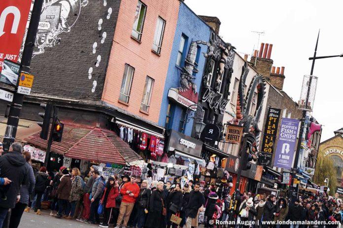Camden Town Hauptstraße Camden High Street