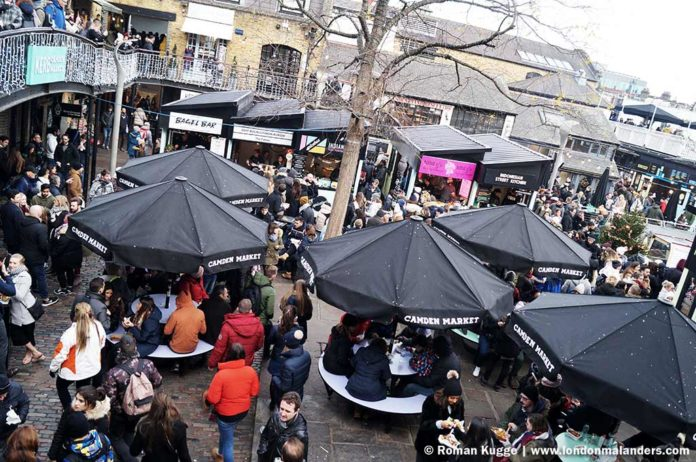 Kerb Camden Town Street Food Market London