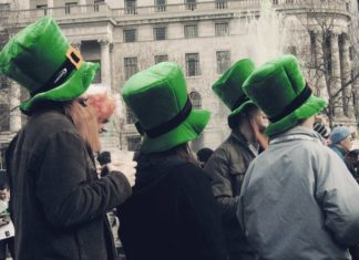 London Saint Patrick's Day