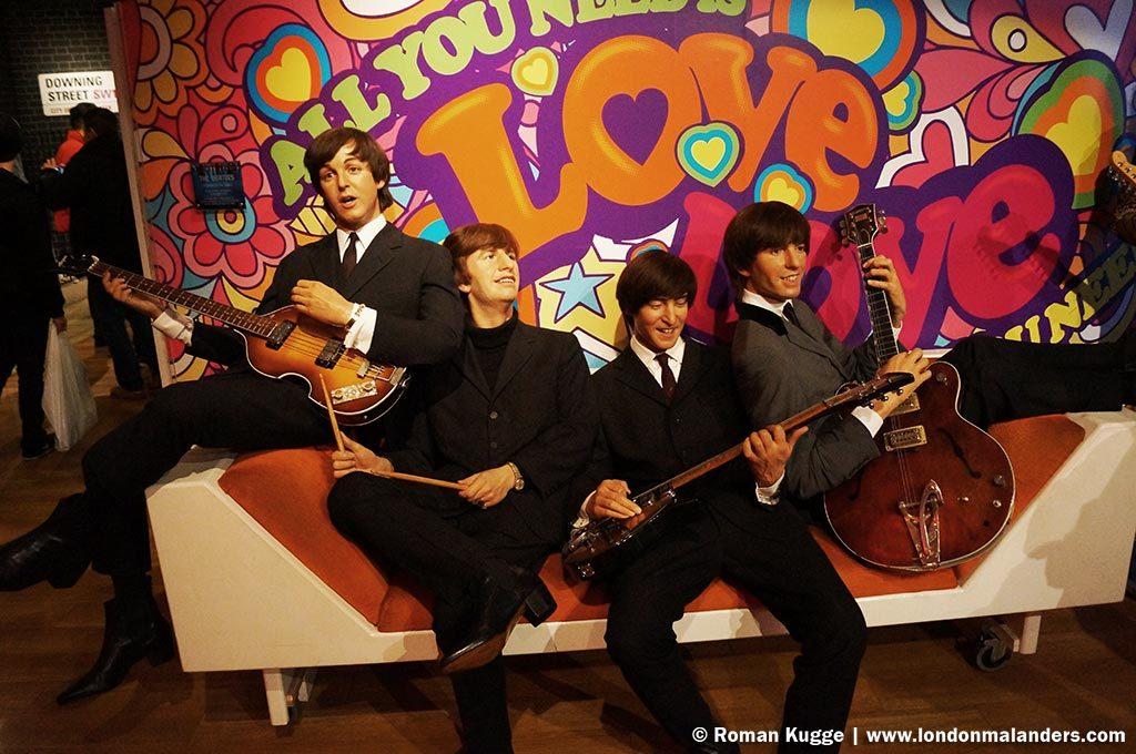 Madame Tussauds London Beatles