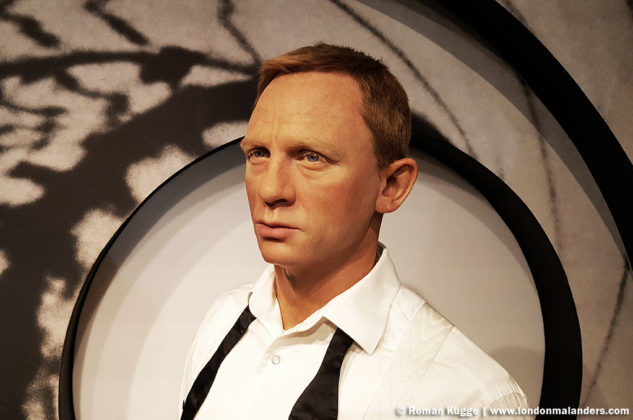 Madame Tussauds London Daniel Craig James Bond