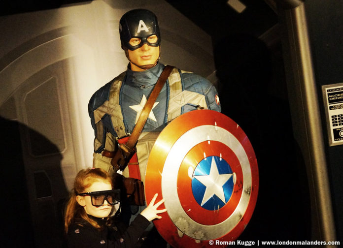 Madame Tussauds London Marvel Super Heroes 4D