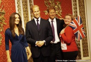 Madame Tussauds London Royals Königliche Familie