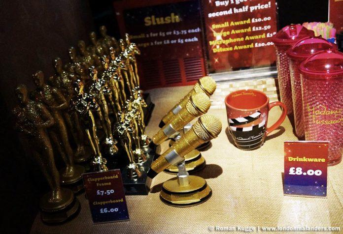 Madame Tussauds London Souvenir Geschäft