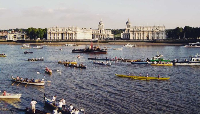 Ruderrennen Head of the River Race Oxford Cambridge Race London