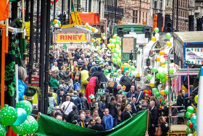 Saint Patrick's Day Parade London