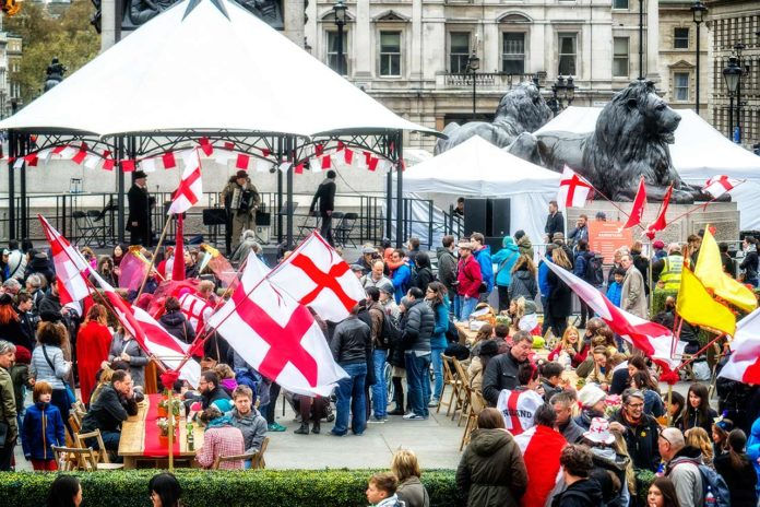 Saint George's Day London Feast of Saint George