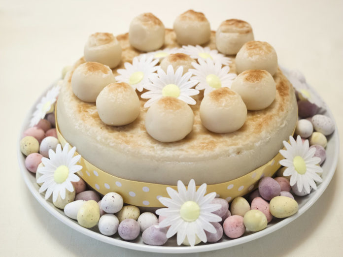 Simnel Cake Ostern London