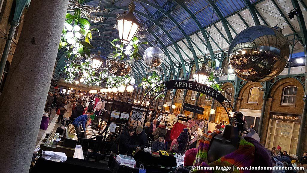 Covent Garden Apple Market London Öffnungszeiten