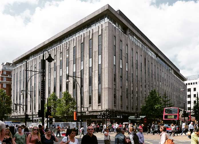 Debenhams Kaufhaus in London