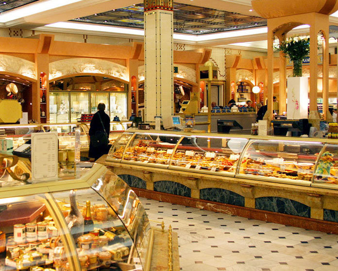 Harrods Kaufhaus Food Department London