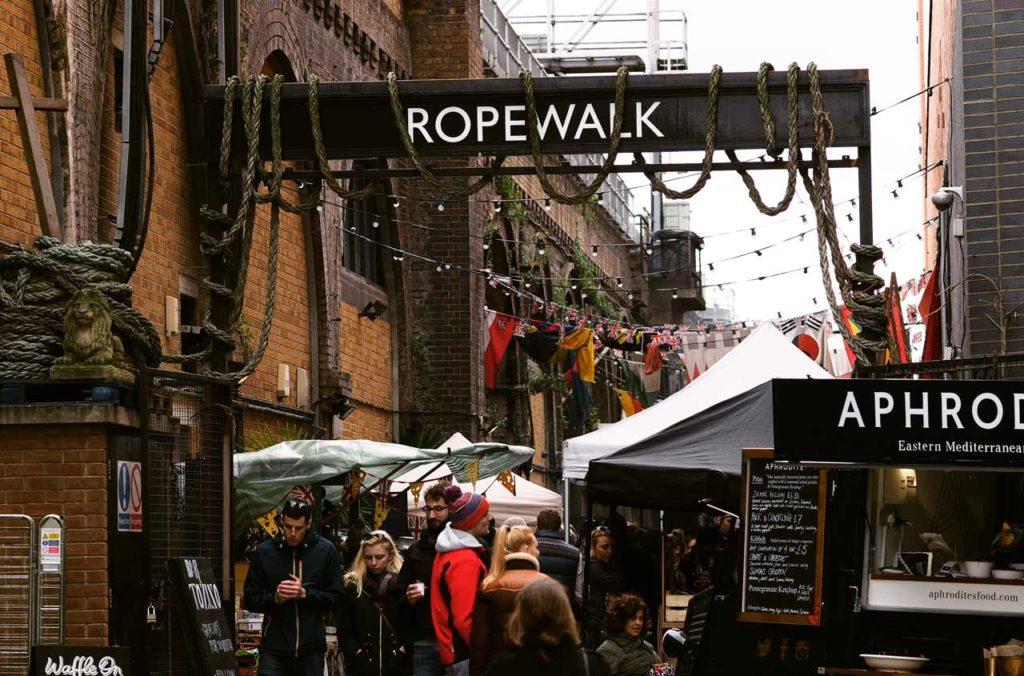 Maltby Street Market London Öffnungszeiten