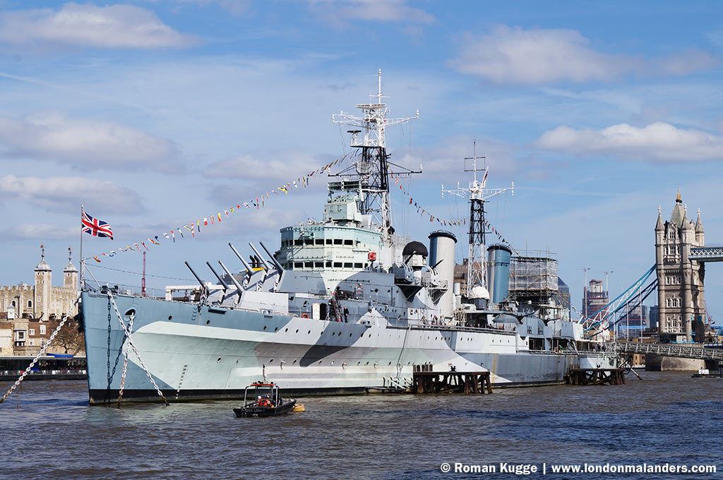 Museumsschiff HMS Belfast London