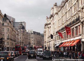 Oxford Street Einkaufsstrasse London