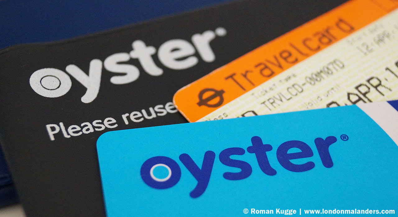 Oystercard oder Travelcard