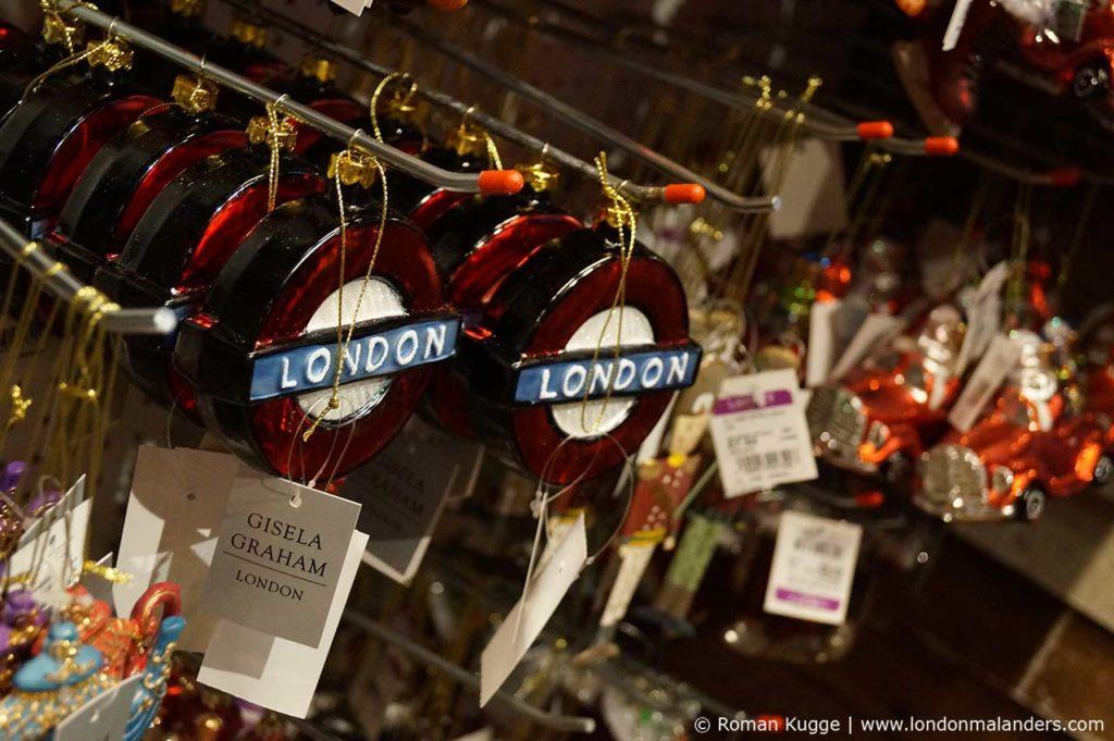 Kaufhaus London Weihnachten Liberty