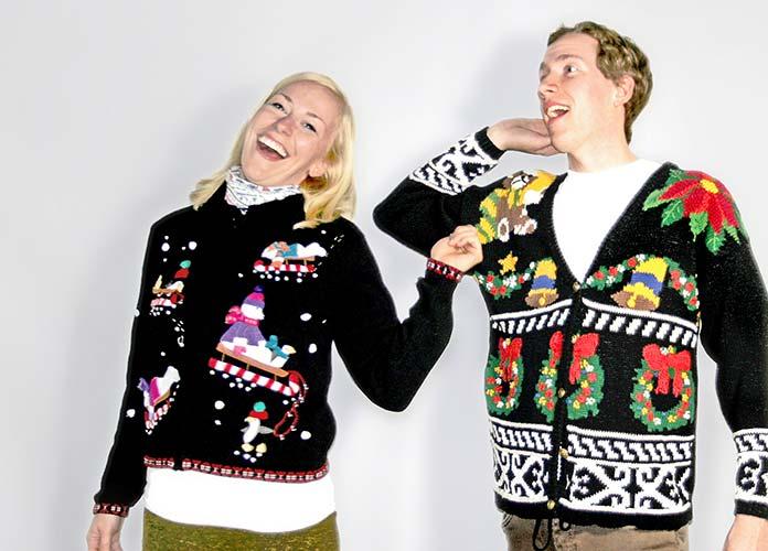 Weihnachts Pullover London Weihnachtstradition