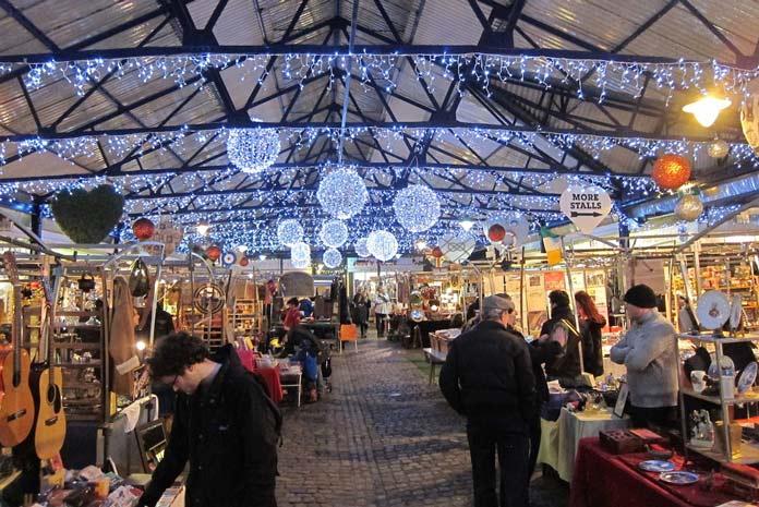 Weihnachtsmarkt London Greenwich Christmas Market