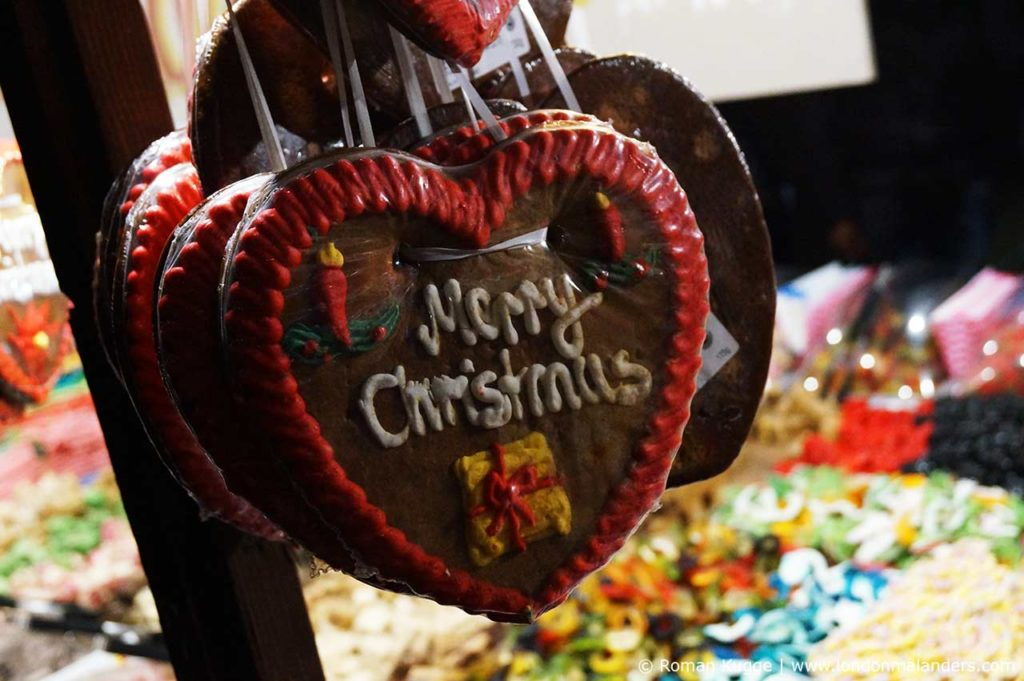 Weihnachtsmarkt London Leicester Square