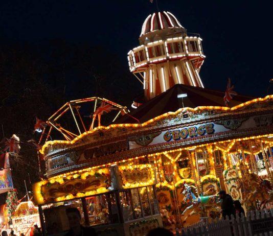 Weihnachtsmarkt London Winter Wonderland