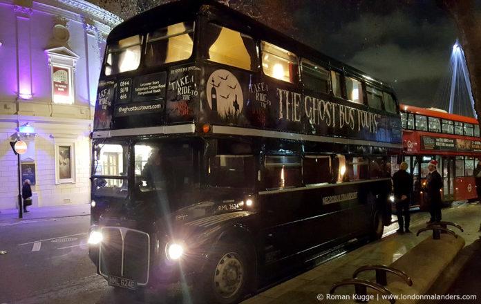 Geisterbus London Ghost Bus Tour