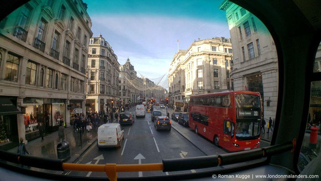 Bus oben sitzen London