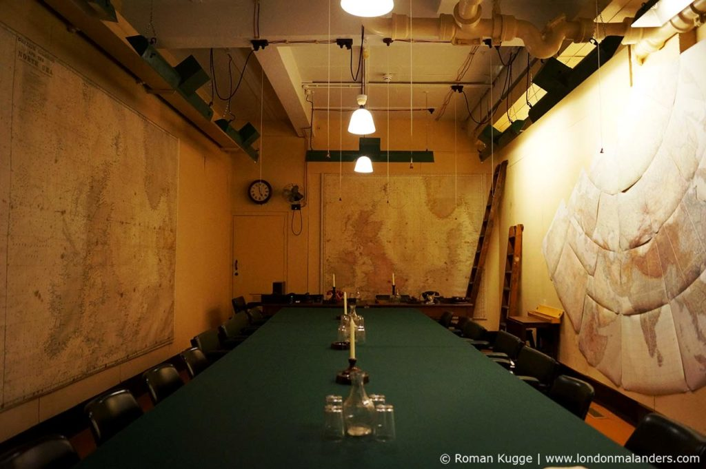 Churchill War Rooms London