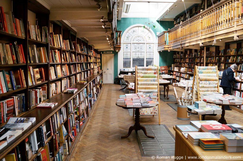 Daunt Books Buchhandlung London