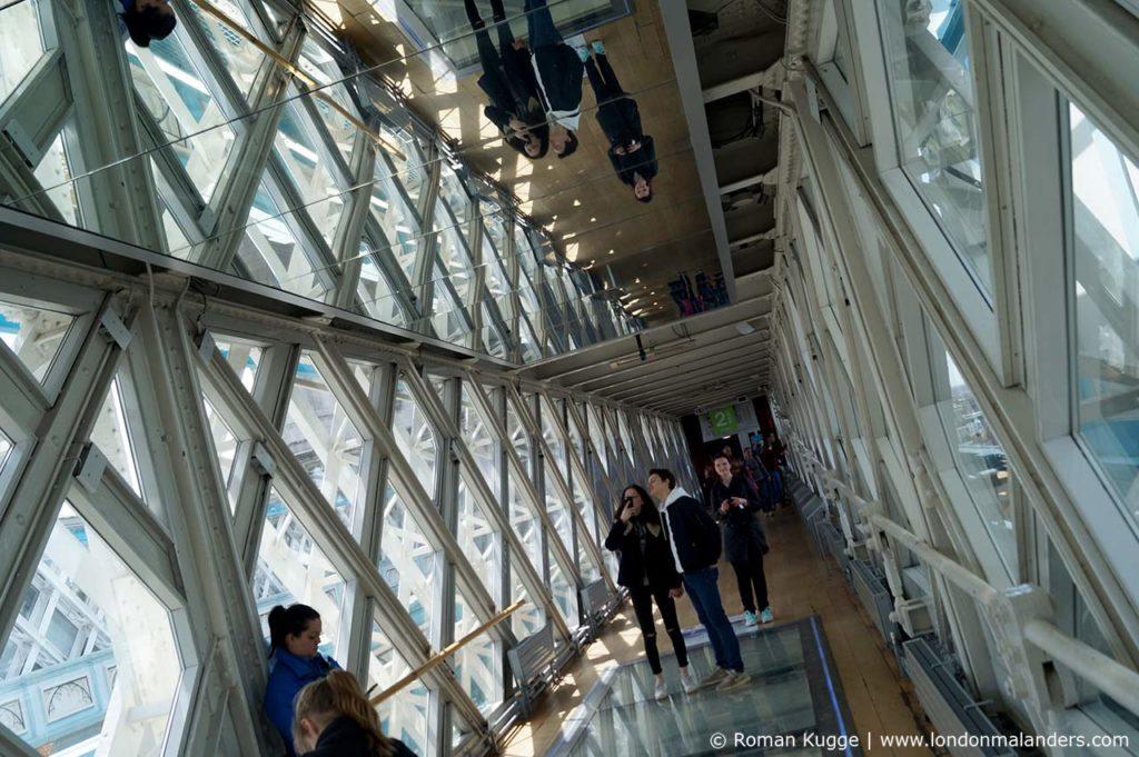 Glasboden Tower Bridge London
