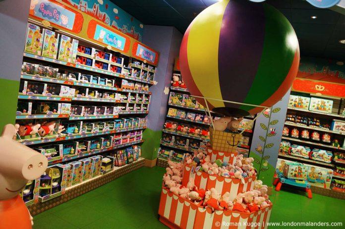 Hamleys London Spielzeuggeschäft